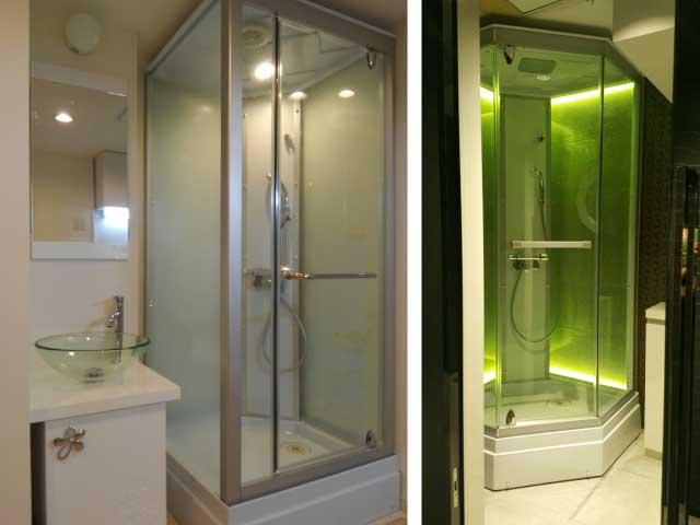 ②シャワーユニットで改修